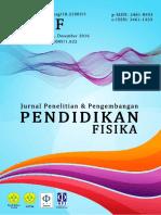 Analisis Kondisi Awal Pembelajaran Fisika SMAN Kota Padang (Dalam Rangka Pengembangan Bahan Ajar Fisika Multimedia Interaktif Berbantuan Game)