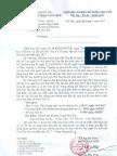CV 621SVHTTDL - QLDL Thong Bao Ket Qua Thi Vong So Khao