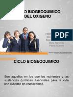 Ciclo Biogeoquimico Del Oxigeno (Exposicion)