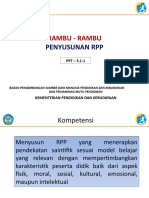 7. Rambu-Rambu Penyusunan RPP