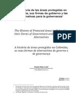 La Historia de Las Áreas Protegidas