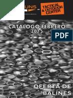 Catalogo Balines Febrero 2015