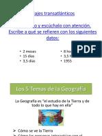 5 Temas Geográficos - Presentación