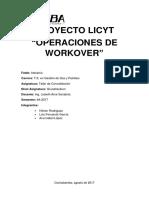 Licyt Operaciones de Workover