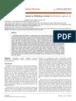 Trivedi Effect - An Effect of Biofield Treatment on Multidrug-resistant Burkholderia Cepacia