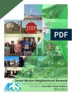 Sunnyslope Az - Community Economic Development Summary - Ryan Winkle