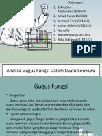 Analisa Gugus Fungsi Dalam Suatu Senyawa.pptx