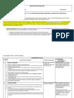 info report unit plan