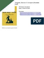 Manual Del Forjador Herrero y Cerrajero Facsimil