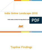 Juxt India Online Landscape 2010 Snapshot