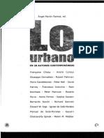 AM Lo Urbano Richard Sennet