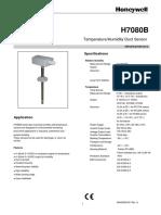 Duct Mounted Humidity Sensor