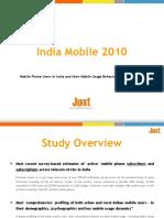 Snapshot - Juxt India Mobile 2010