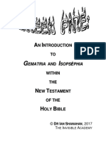 Ian Shanahan - Greek Fire - An Introduction to Gematria and Isopsephia Within the New Testament
