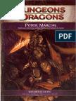 D&D 4E - Poder Marcial - Biblioteca Élfica