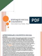 Enfoque Social Cognitivo