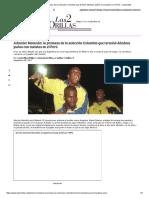 Johnnier Montaño_ La Promesa de La Selección Colombia Que Terminó Dándose Puños Con Taxistas en El Perú