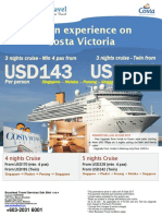 Costa Victoria Package