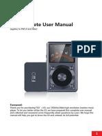 Fiio X3 (2nd Gen) Complete User Manual