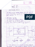 Microprocessor Data Transfer Scheme Notes