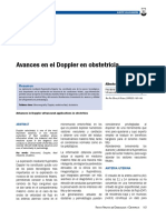 Avances en Ecografia Doppler
