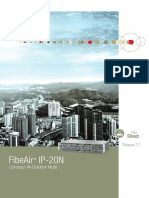 FibeAir IP 20N Datasheet ETSI for T7