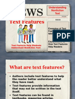 Text Features - Martha