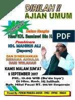 Poster Pengajian