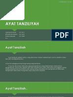 Kelompok 3 If6 (Ayat Tanziliyah)