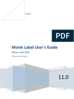 Movie Label User's Guide - (c)2015 by Code_Aero Technologi