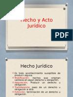 Hecho y Acto Jurídico (1).Pptx