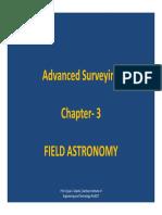 Field Astronomy