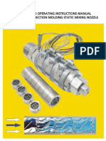 PDF-02.0) SMN Mixing Nozzle Installation and Operating Instructions Manual