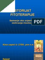 Istorijat Fitoterapije