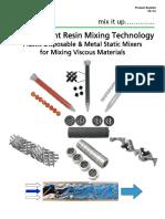 PDF-09.0) 2K-Resin Plastic Disposable & Metal Static Mixer Technical Bulletin.pdf