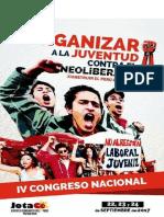Informe Político IV Congreso Nacional de la Juventud Comunista del Perú - Patria Roja