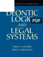 (Cambridge Introductions to Philosophy and Law) Pablo E. Navarro, Jorge L. Rodríguez-Deontic Logic and Legal Systems-Cambridge University Press (2014)