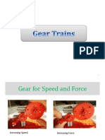 Gear Trains. Contn Lect06