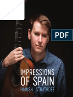 Impressions of Spain, Hamish Strathdee - Digital Booklet