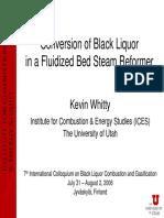 8.2 - Whitty - Conversion in a Steam Reformer