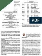 notice sheet 10th september 2017