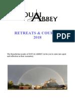 Douai Pastoral Programme Brochure 2018