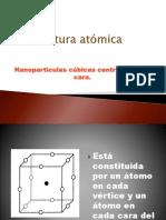 Estructura Atómica M