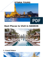 Vistara Tours - Best Places for Vacations in Bankok