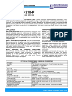 Sealbond 218 P Pressure Injection Epoxy