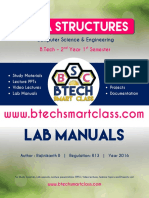 Data Structures Lab Manual