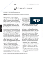 Psychological Aspects of Depression in Cancer
