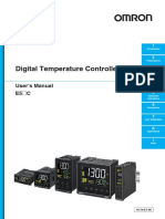Regulator Temperatura E5_C Users Manual