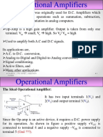 BE OPAMP Operational Amplifiers by TJ Shivaprasad