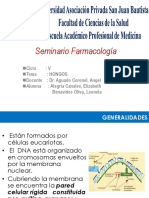 Seminario Farmacología HONGOS